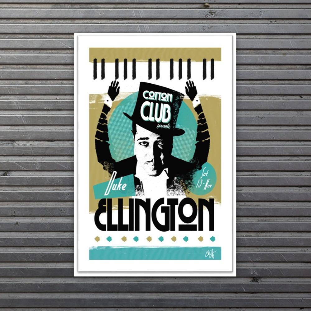 limited edition Duke Ellington print